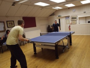 Sandhust Table Tennis Table